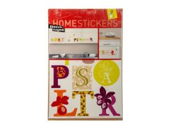 Наклейка для декора HOMESTICKERS 35х65см Разноцветный 930651206 (DI66930651206)