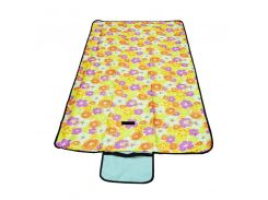 Коврик для пикника Supretto раскладной 145х80 см Желтый (5534-0003)