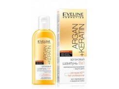 Шампунь для волос Eveline Cosmetics Аргановый Шампунь 8в1 Argan+Keratin 150 мл