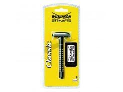 Т-образный станок для бритья Wilkinson Sword Classic со сменными лезвиями 5 шт (1043-1)