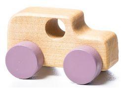 Деревянная машинка Левеня Cubika Мини-машинка 2 (13227R)