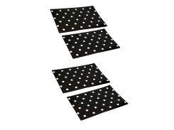 Набор декоративных салфеток (4 шт) NUOVA R2S 45х30см Черный dec0002190