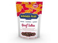 Лакомство для собак с говядиной Winner Plus DogSnack Beef Bites (60116) 100 г (hub_sbKc59279)