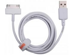 Кабель Baseus Bold Apple data cables 1.2M WHITE Lightning (CAAPPRO-02)
