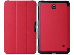 Обложка MoKo UltraSlim для Samsung Galaxy Tab 4 8.0 Red