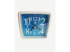 Будильник кварцевый Buda Clock Синий