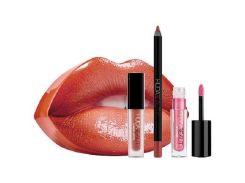 Набор для губ Huda Beauty Contour and Strobe lip set Trendsetter Snobby (HB3)