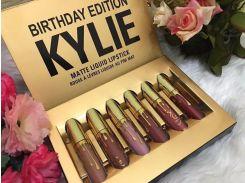 Наборы матовых жидких помад Kylie Birthday Edition