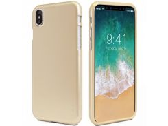 TPU чехол Mercury iJelly Metal series для Apple iPhone X / XS Gold (67107)