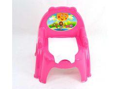 Горшок ТехноК кресло 3244 Розовый (223361)