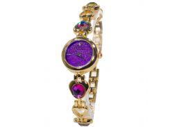 Женские часы Pollock Изумруд Purple (3110-9073)