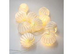 Гирлянда Decorino Venezia Paper Balls 10led (820872200)