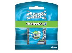 Сменные кассеты для бритья Wilkinson Sword Protector 3 - 4 шт (1015)