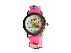 Часы детские Hello Kitty HK-186 Розовые