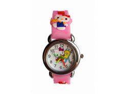 Часы детские Hello Kitty HK-185 Розовые