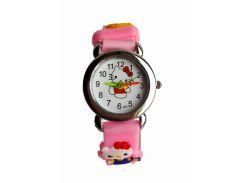 Часы детские Hello Kitty HK-184 Розовые