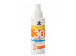Солнцезащитное водостойкое молочко Solbianca 30 Spf для лица и тела с пантенолом 150 мл (8872)