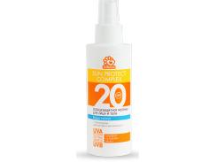 Солнцезащитное водостойкое молочко SolBianca 20 SPF для лица и тела 150ml (8870)
