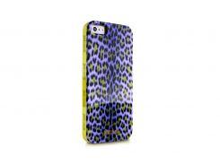 Чехол Just Cavalli Macro Leopard для iPhone 5/5S/SE Purple