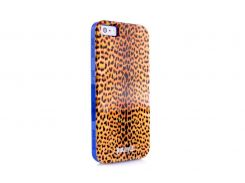 Чехол Just Cavalli Macro Leopard для iPhone 5/5S/SE Orange