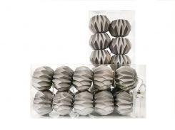 Гирлянда Decorino Grey Paper Balls 10led 7.5х235см на батарейках АА (hub_MOqS46303)