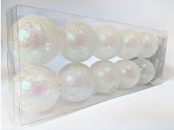 Гирлянды декоративные Cotton Balls 10led 6х180 см #15 (CB141)