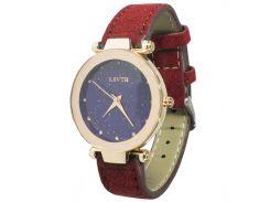 Женские часы LSVTR Fashion Red (2609-7361)