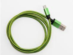 Кабель DENGOS заряда и синхронизации USB 2.0, micro-USB (зеленый)(NTK-M-KPR-GD-GREEN)