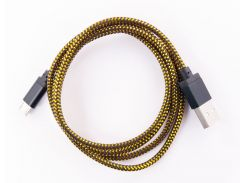 Кабель DENGOS заряда и синхронизации USB 2.0, micro-USB (черный)(NTK-M-KPR-GD-BLACK)