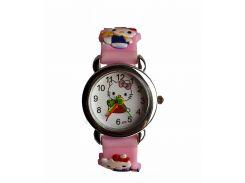 Часы детские Hello Kitty HK-180 Розовые