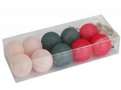Гирлянды Cotton Balls 10led 6х180 см #5 (CB82)