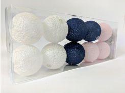 Гирлянды Cotton Balls 10led 6х180 см #9 (CB5)