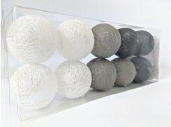 Гирлянды Cotton Balls 10led 6х180 см #13 (CB1)