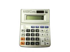 Калькулятор настольный Keenly KK-800A-1 Серый (hub_CDdV22393)