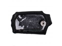 Чехол Valenta для брелока Sheriff ZX-750/ 1099 кожаный Черный (РК461)