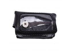 Чехол Valenta для брелока Eaglemaster E1 кожаный Черный (РК761)