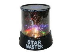 Ночник проектор звездного неба Gizmos Star Master Черный (849)