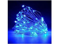 Cветодиодная гирлянда Lighteer Technology Limited 5 м 50 led на батарейках Blue (000001176)