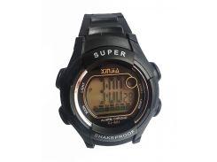 Наручные часы  Xinjia 661 спортивные электронные Черные