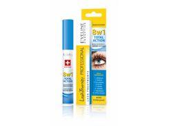 Сыворотка для ресниц Eveline Cosmetics Total Action 8-в-1 (91856)