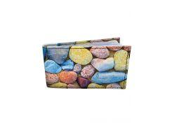 Визитница DevayS Maker DM 0202 Камни морские Разноцветная (12-0202-459)