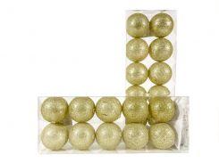 Гирлянда тайские шарики Lighteer Technology Limited Decorino Golden Cotton Balls 10led 6х235см на батарейках АА (hub_IJaw16706)