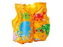Детский надувной жилет для плаванья Intex Рыбки (59661R)