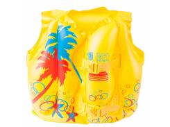 Детский надувной жилет для плаванья Bestway Тропики Желтый (32069R)
