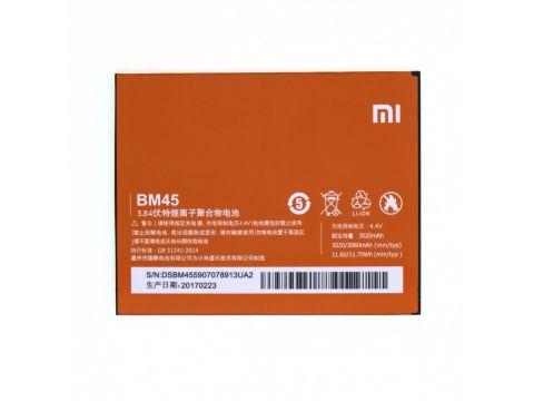 Аккумулятор AAA XIAOMI BM45 / REDMI NOTE 2 High Copy Одесса