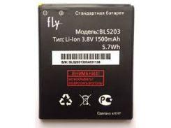 Аккумулятор FLY IQ442 Quad Miracle 2/ IQ442Q, BL5203 1500mah Original