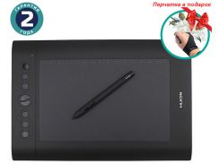Графический планшет Huion H610Pro + перчатка