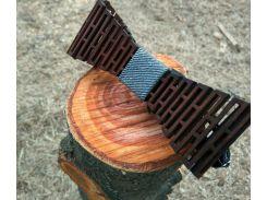 Деревянная бабочка галстук Джинс ручной работы, серия Flexion