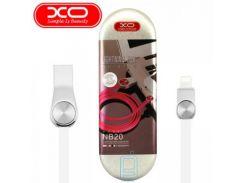 USB кабель XO NB20 lightning 1m белый