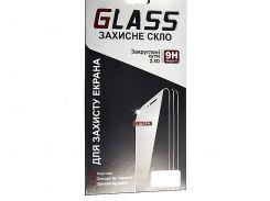 Закаленное защитное стекло с олеофобным 3D Samsung G532F Galaxy J2 Prime (0.3 мм, 2.5D, с золотисты